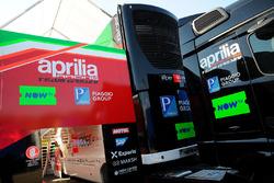 Aprilia Racing Team Gresini camión