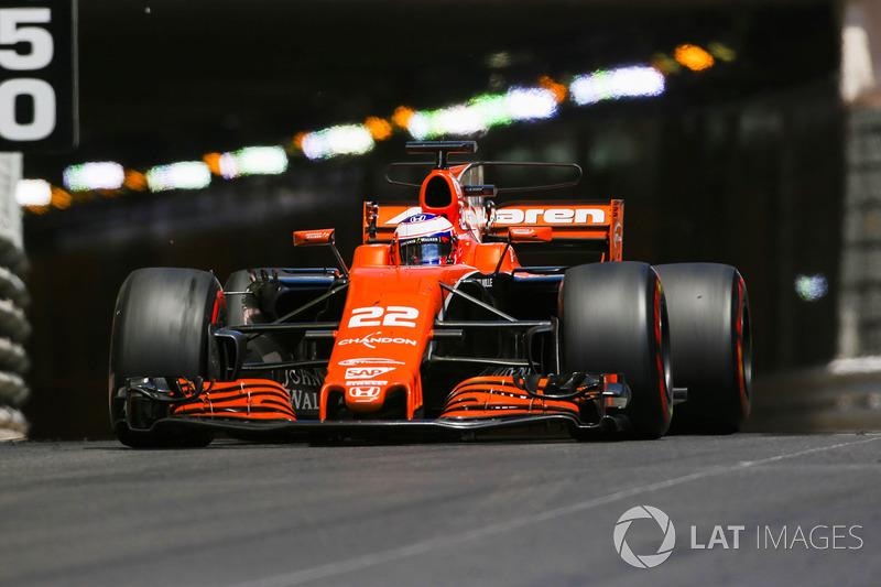 2017 - McLaren MCL32 (Honda motor)