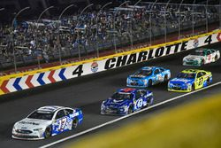 Ricky Stenhouse Jr., Roush Fenway Racing Ford, Regan Smith, Richard Petty Motorsports Ford