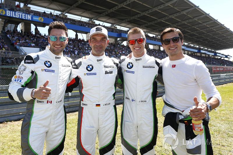 #20 BMW Team Schubert Motorsport, BMW M6 GT3: Jörg Müller, Bruno Spengler, Jesse Krohn, Kuno Wittmer