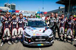 #95 Hyundai N, Hyundai I30 N: Jae-Kyun Kim, Jong-Hyuk Kwon, Bruno Beulen, Jens Dralle