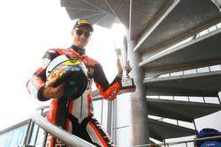 Podium: derde Chaz Davies, Ducati Team