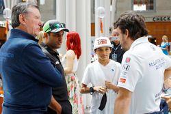 Johnny Rutherford; Juan Pablo Montoya; Sebastian Montoya; Fernando Alonso