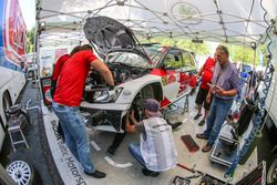 Sports Racing Technologies, lavori sulla SKODA Fabia R5