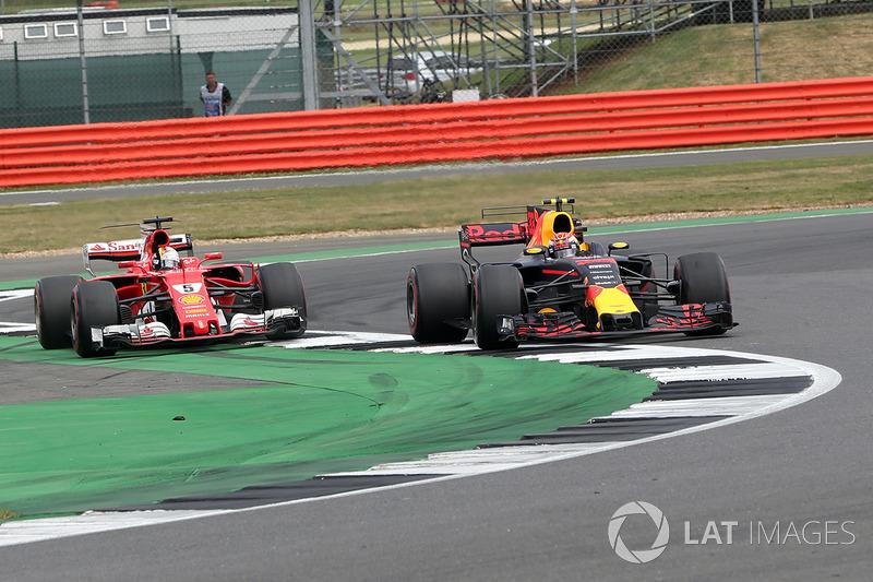 """2017, Groot-Brittannië: """"Vettel wil botsauto's spelen"""""""