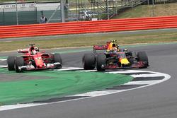 Себастьян Феттель, Ferrari SF70H, Макс Ферстаппен, Red Bull Racing