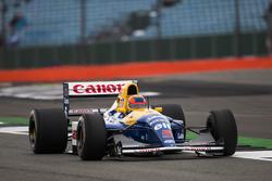 Karun Chandhok dans la Williams FW14B Renault