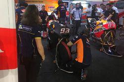 Marc Marquez, Repsol Honda Team with new aerodynamic winglet fairing