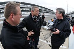 Ray Leto, Gil de Ferran, and Nigel Beresford