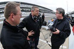 Ray Leto, Gil de Ferran, en Nigel Beresford