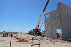Construcción del circuito Bend Motorsport Park