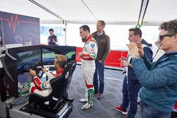 Tiago Monteiro, Honda Racing Team JAS, Honda Civic WTCC and Norbert Michelisz, Honda Racing Team JAS, Honda Civic WTCC