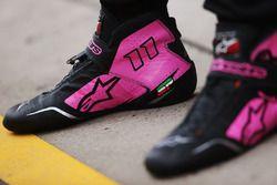 Schuhe von Sergio Perez, Force India