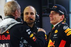 Max Verstappen, Red Bull Racing, Helmut Markko, Red Bull Racing Consultant
