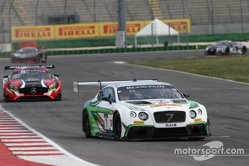 #7 Bentley Team M-Sport, Bentley Continental GT3: Steven Kane, Vincent Abril