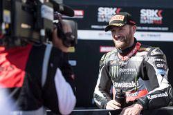 Third place Tom Sykes, Kawasaki Racing