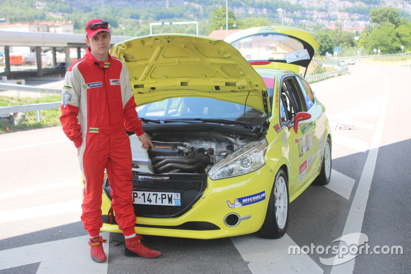 Thomas Schmid, Peugeot 208 R2, Team Rallye Top