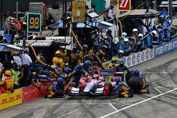 Pitstop Alexander Rossi, Herta - Andretti Autosport Honda