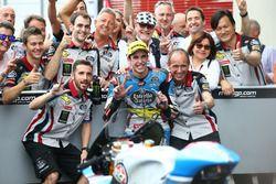 derde plaats Alex Marquez, Marc VDS race
