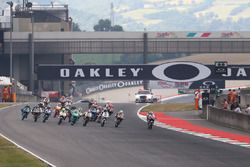 Fabio Di Giannantonio, Del Conca Gresini Racing Moto3 leads