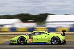 №83 DH Racing Ferrari 488 GTE: Трейси Крон, Ник Йонссон, Андреа Бертолини