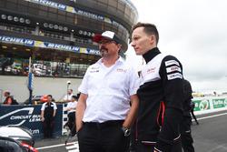 Rob Leupen, hoofd van Toyota Racing, Mike Conway