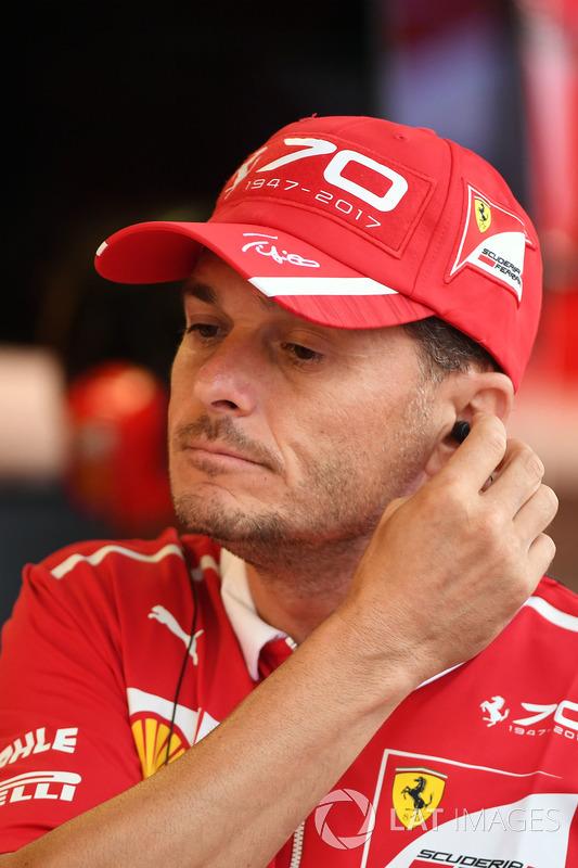 Джанкарло Фізікелла, Ferrari