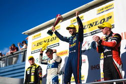 Podium: 1. Andrew Jordan, West Surrey Racing Racing BMW 125i M Sport; 2. Adam Morgan, Ciceley Motors