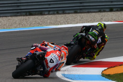 Valentino Rossi, Yamaha Factory Racing and Johann Zarco, Monster Yamaha Tech 3, Monster Yamaha Tech 3 makes contact