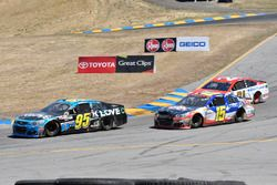 Michael McDowell, Leavine Family Racing Chevrolet, Kevin O'Connell, Premium Motorsports Chevrolet, R