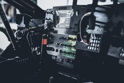 Le cockpit de la Peugeot 3008DKR Maxi
