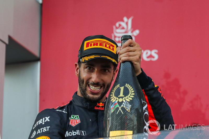 Assim, Ricciardo anotou 70 pontos nos últimos quatro GPs.