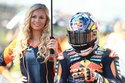 Bo Bendsneyder, Red Bull KTM Ajo con una bella edecan