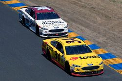 Landon Cassill, Front Row Motorsports Ford, David Ragan, Front Row Motorsports Ford