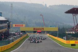 Giuliano Alesi, Trident, devance Julien Falchero, Campos Racing et Ryan Tveter, Trident au départ