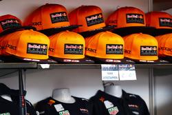 Des casquettes spéciales Max Verstappen
