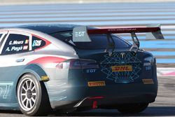 El Tesla Model S P85+ en Paul Ricard