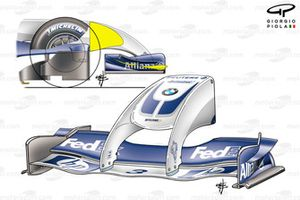 DUPLICATE: Williams FW26 'Walrus' nose