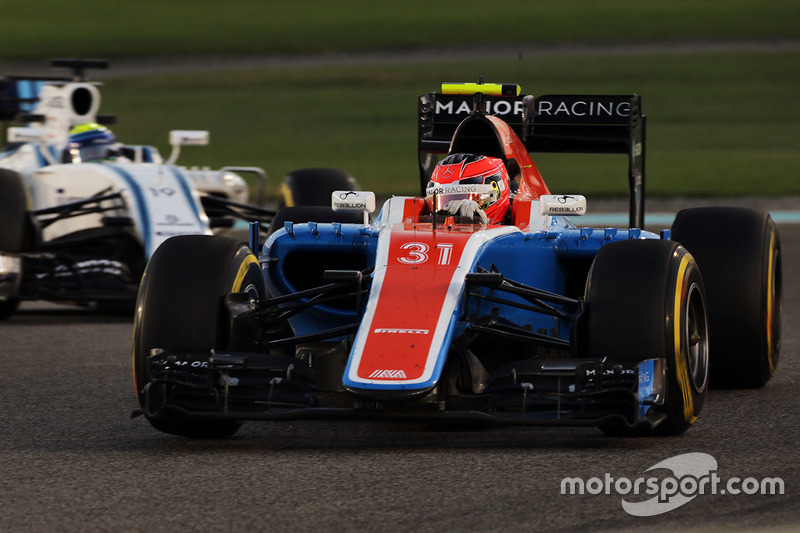 Esteban Ocon, Manor Racing MRT05 - 2016