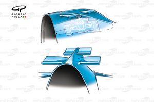 Renault R24 2004 airbox wings