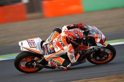 Marc Marquez con la CBR250 Dream Cup