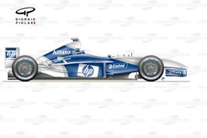 Williams FW25 2003 side view