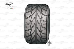 Michelin intermediate tyre