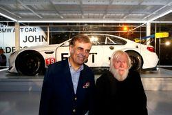 Ludwig Willisch, BMW North America Chief with John Baldessari