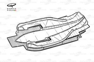 Double fond plat de la Ferrari F92A (644)