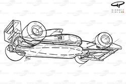 Vue de dessous de la Ferrari F92A (644)