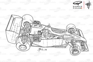 Vue d'ensemble de la Brabham BT46