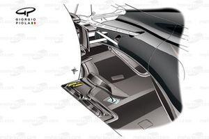McLaren MP4/30 stepped bottom design