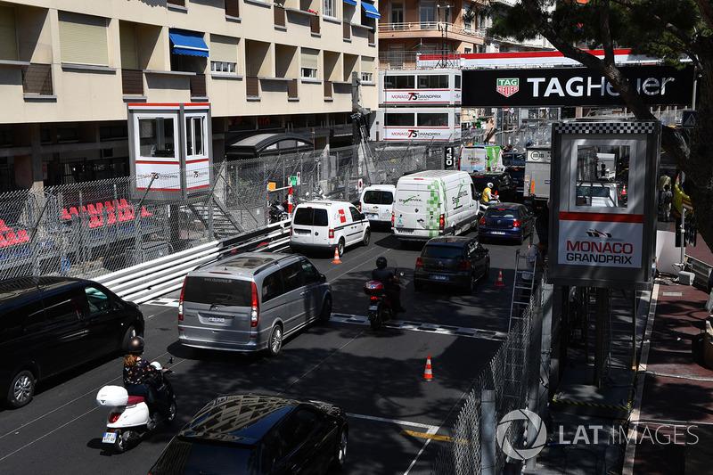 Verkehr in Monte Carlo
