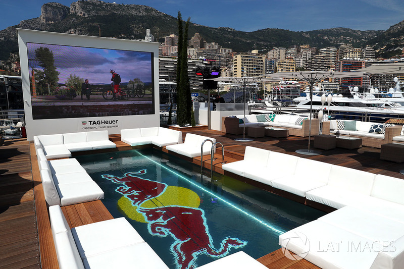Swimming pool in the Red Bull Energy Station